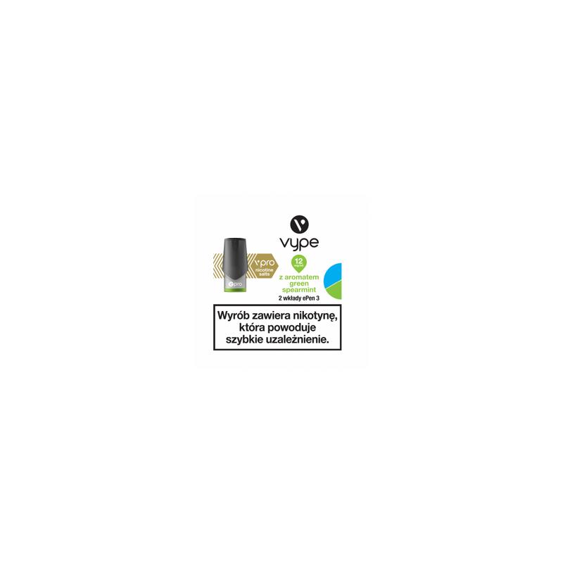 Wkłady ePen 3 Green Spearmint