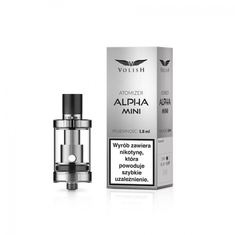 Atomizer Volish Alpha Mini Silver