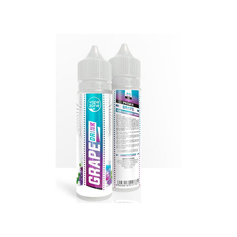 VapeZone Grape Premix 40 ml