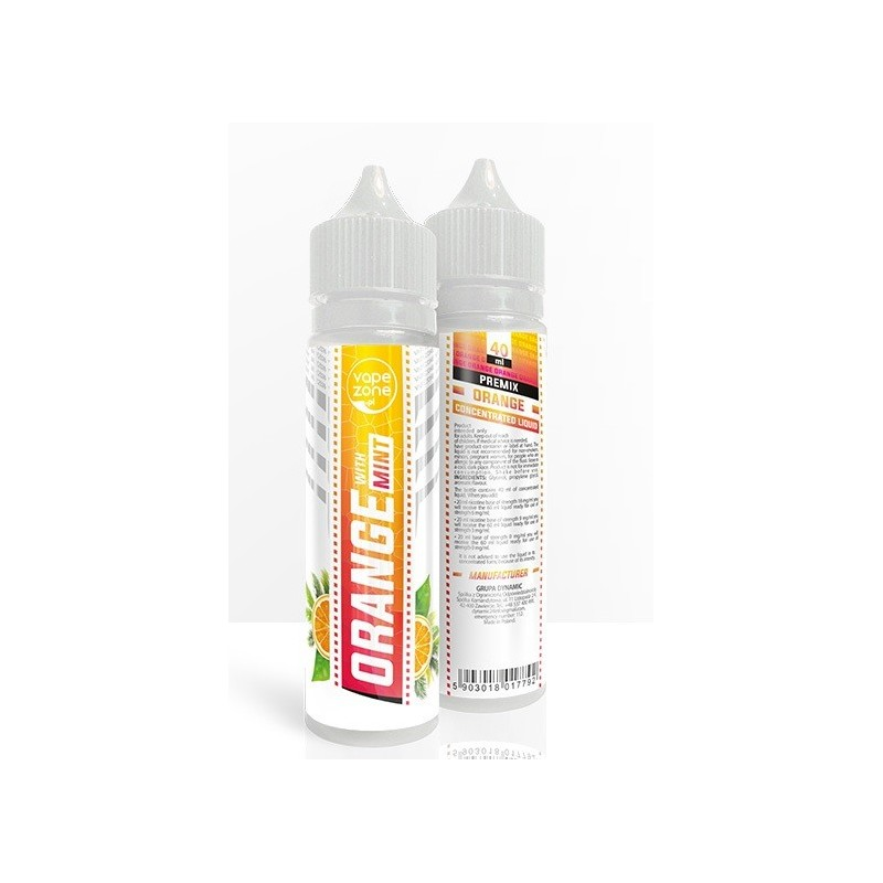 VapeZone Orange Premix 40 ml