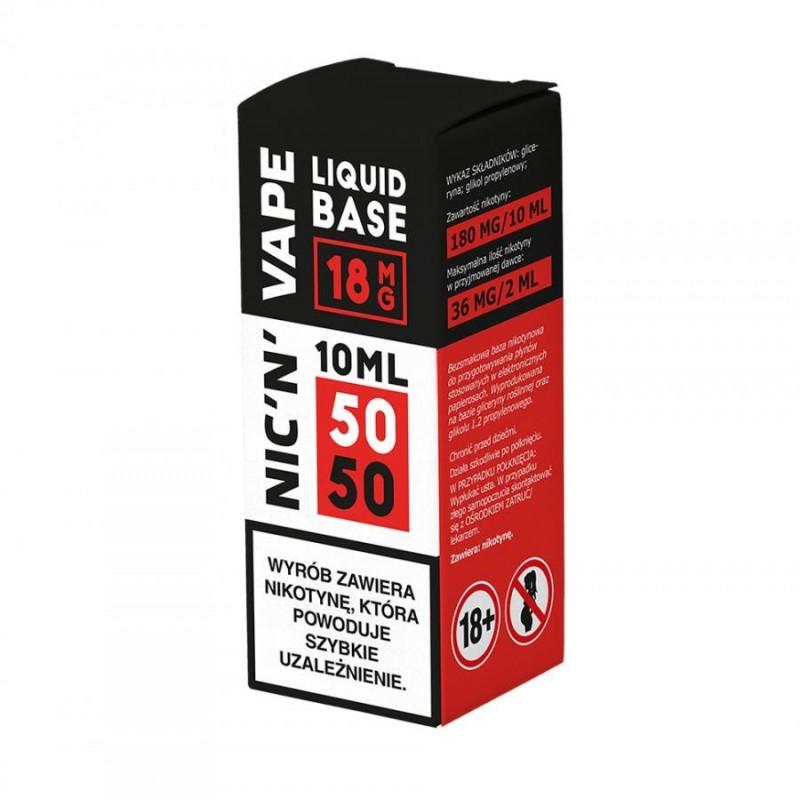 Baza Nikotynowa NIC'N'VAPE 18 mg